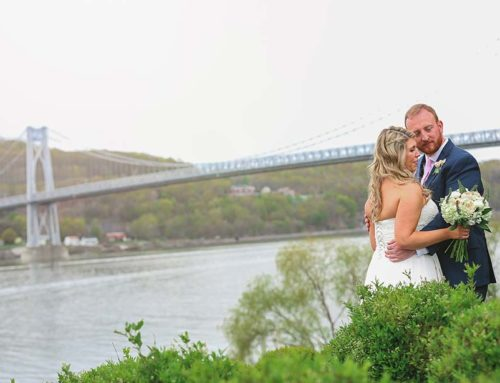 Tom and Lisa used The Grandview as their Canvas for their amazingly detailed April Wedding