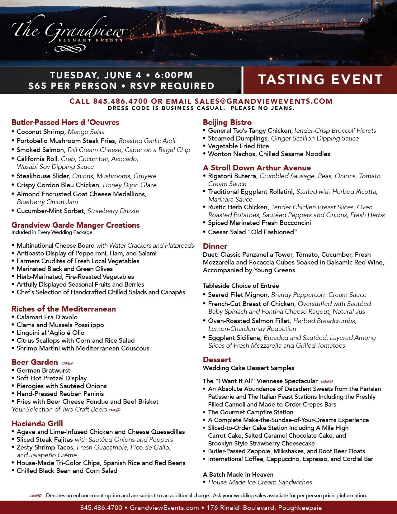 4th The Grandview Event Tasting June aCqUq