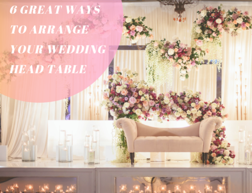 6 Great Ways to Arrange Your Head Table at Your Wedding