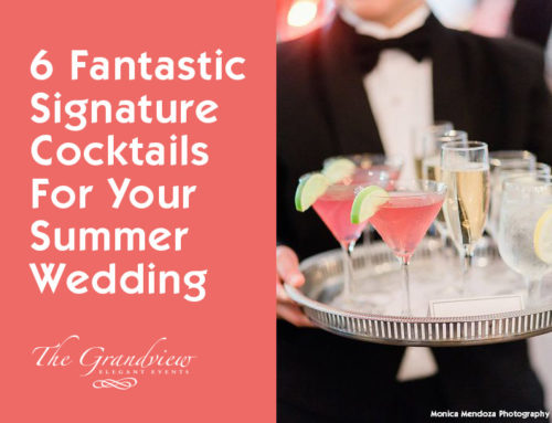 6 Fantastic Signature Cocktails for your Summer Wedding