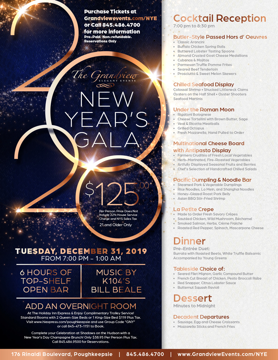 The Grandview 2020 New Year's Gala
